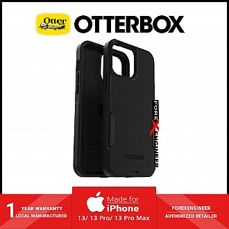"""Otterbox Commuter for iPhone 13 6.1"""" 5G - Antimicrobial Case - Black (Barcode: 77-85414)"""