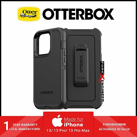 """Otterbox Defender for iPhone 13 6.1"""" 5G - Black (Barcode: 840104285787)"""