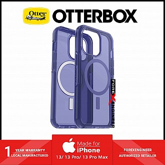 """Otterbox Symmetry Plus for iPhone 13 Pro Max 6.7"""" 5G - Magsafe & Antimicrobial Case - Feeling Blue (Barcode: 840104267042 )"""