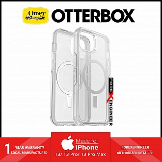 """Otterbox Symmetry Plus for iPhone 13 6.1"""" 5G - Magsafe & Antimicrobial Case - Clear (Barcode: 840104287866 )"""