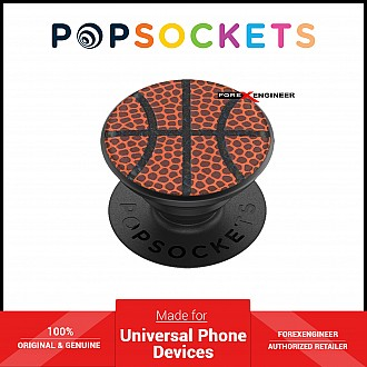 PopSockets Swappable PopGrip Premium Basketball ( Barcode : 842978171463 )