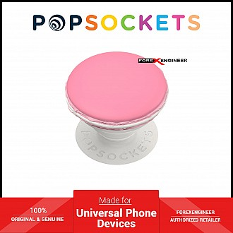 PopSockets Swappable PopGrip Premium PopOuts Strawberry Macaron ( Barcode : 842978186306 )