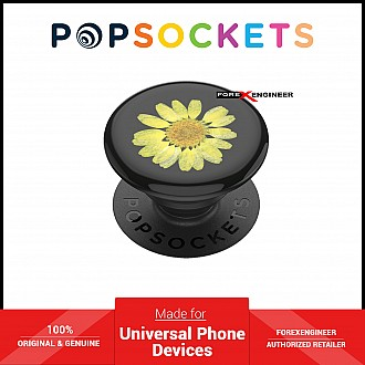 PopSockets Swappable PopGrip Premium Pressed Flower- Yellow Daisy ( Barcode : 842978173498 )