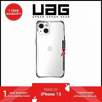 """UAG Plyo for iPhone 13 5G 6.1"""" - Ice  (Barcode: 810070364281)"""