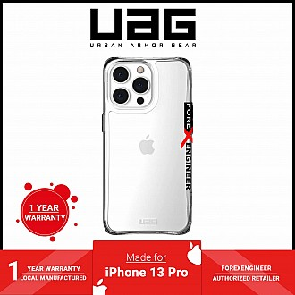 """UAG Plyo for iPhone 13 Pro 5G 6.1"""" - Ice  (Barcode: 810070362959)"""