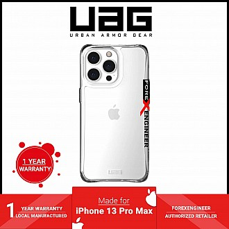 """UAG Plyo for iPhone 13 Pro Max 5G 6.7"""" - Ice  (Barcode: 810070363802)"""