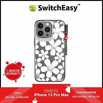 """SwitchEasy Artist for iPhone 13 Pro Max 6.7"""" 5G - Double in-Mold Decoration - Fleur (Barcode: 4895241101793 )"""