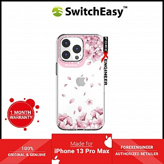 """SwitchEasy Artist for iPhone 13 Pro Max 6.7"""" 5G - Double in-Mold Decoration - Sakura (Barcode: 4895241102486 )"""
