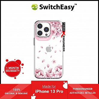 """SwitchEasy Artist for iPhone 13 Pro 6.1"""" 5G - Double in-Mold Decoration - Sakura (Barcode: 4895241102431 )"""