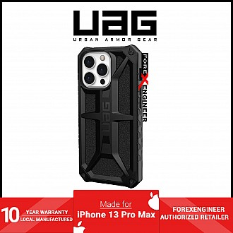 """UAG Monarch for iPhone 13 Pro Max 5G 6.7"""" - Black  (Barcode: 810070363758 )"""