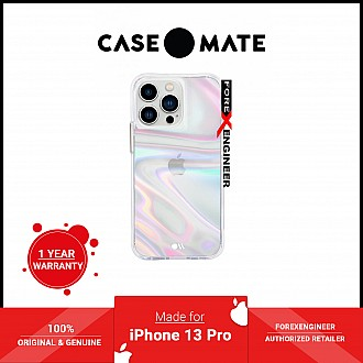 """Case-Mate Soap Bubble for iPhone 13 Pro  6.1"""" 5G with Antimicrobial  - Iridescent (Barcode: 840171706437 )"""