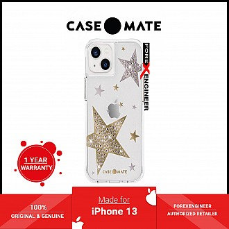 """Case-Mate Sheer Superstar for iPhone 13 6.1"""" 5G with Antimicrobial - Clear (Barcode: 840171706895 )"""