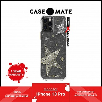 """Case-Mate Sheer Superstar for iPhone 13 Pro 6.1"""" 5G with Antimicrobial - Clear (Barcode: 840171706468 )"""