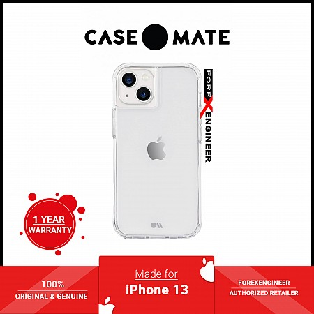 """Case-Mate Tough for iPhone 13 6.1"""" 5G with Antimicrobial - Clear (Barcode: 840171706949 )"""