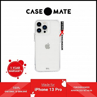 """Case-Mate Tough for iPhone 13 Pro 6.1"""" 5G with Antimicrobial - Clear (Barcode: 840171706512 )"""