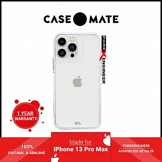"""Case-Mate Tough for iPhone 13 Pro Max 6.7"""" 5G with Antimicrobial - Clear (Barcode: 840171706062 )"""