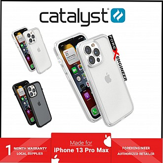 """Catalyst Influence for iPhone 13 Pro Max 6.7"""" 5G - 10ft Drop Proof - Clear (Barcode: 840625111695 )"""