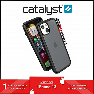 """Catalyst Influence for iPhone 13 6.1"""" 5G - 10ft Drop Proof - Stealth Black (Barcode: 840625111831 )"""