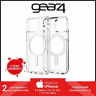 """Gear4 Crystal Palace Snap for iPhone 13 6.1"""" 5G - MagSafe Compatible - Clear (Barcode: 840056146525 )"""