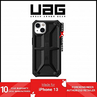 """UAG Monarch for iPhone 13 5G 6.1"""" - Black  (Barcode: 810070364236 )"""