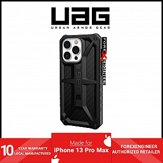 """UAG Monarch for iPhone 13 Pro Max 5G 6.7"""" - Carbon Fibre  (Barcode: 810070363765 )"""