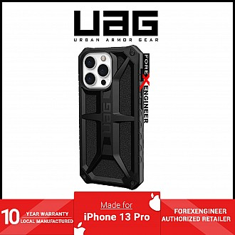 """UAG Monarch for iPhone 13 Pro 5G 6.1"""" - Black  (Barcode: 810070362904)"""