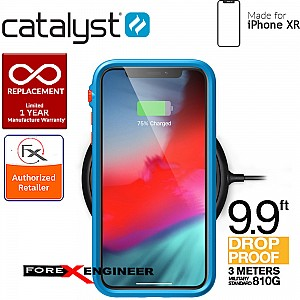 Catalyst Impact Protection Case for iPhone XR - Heavy Duty Drop Proof (3 meters) with Slim Design - Blueridge / Sunset