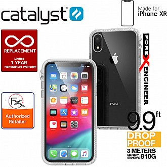 Catalyst Impact Protection Case for iPhone XR - Heavy Duty Drop Proof (3 meters) with Slim Design - Clear