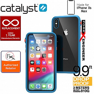 Catalyst Impact Protection Case for iPhone Xs Max - Heavy Duty Drop Proof (3 meters) with Slim Design - Blueridge / Sunset