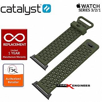 Catalyst Sport Band for APPLE WATCH 42mm Series 3 / 2 / 1 - Army Green
