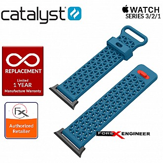 Catalyst Sport Band for APPLE WATCH 38mm Series 3 / 2 / 1 - Blueridge / Sunset