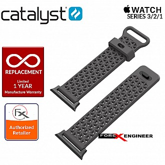 Catalyst Sport Band for APPLE WATCH 38mm Series 3 / 2 / 1 - Space grey