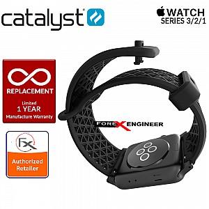 Catalyst Sport Band for APPLE WATCH 38mm Series 3 / 2 / 1 - Stealth black