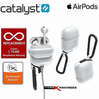 Catalyst Waterproof Case for Airpods - 1 meters deep with 1.2 meters drop protection - Frost White
