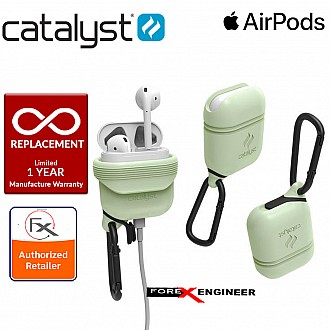 Catalyst Waterproof Case for Airpods - 1 meters deep with 1.2 meters drop protection - Glow in the Dark