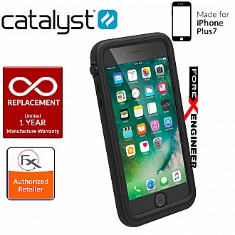 Catalyst Waterproof Case for iPhone 7 Plus - 10 meters deep with 2 meters drop protection - Stealth Black