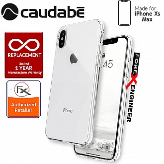 Caudabe Lucid Clear for iPhone Xs Max - Crystal