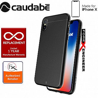Caudabe the Sheath for iPhone XS / X Premium Ultra Thin Case - Classic Black