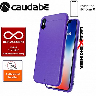 Caudabe the Sheath for iPhone X Premium Ultra Thin Case - Classic Ultraviolet