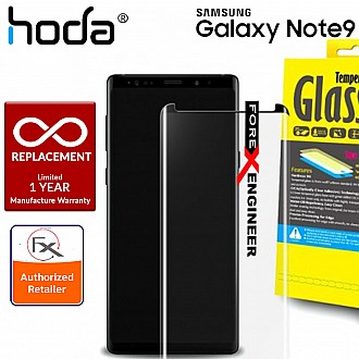 Hoda 3D Full Coverage Tempered Glass Screen Protector for Samsung Galaxy Note 9 - Black