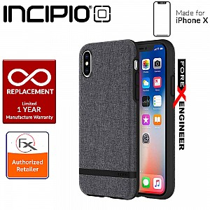 Incipio Carnaby ESQUIRE SERIES for iPhone X / Xs - Gray