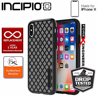 Incipio DualPro Sport for iPhone X / Xs - Black/Smoke
