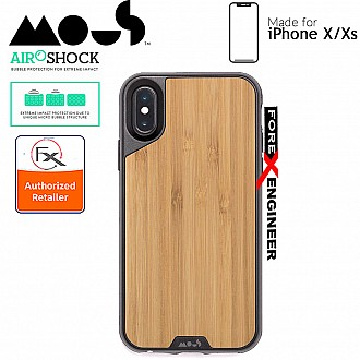MOUS LIMITLESS 2.0 Case for iPhone X / Xs - AiroShock extremely shockproof protective - Bamboo