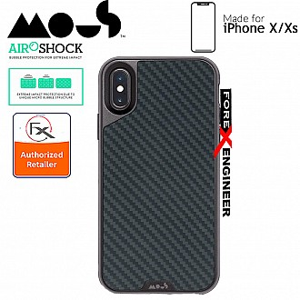 MOUS LIMITLESS 2.0 Case for iPhone X / Xs - AiroShock extremely shockproof protective - Aramid Carbon Fibre