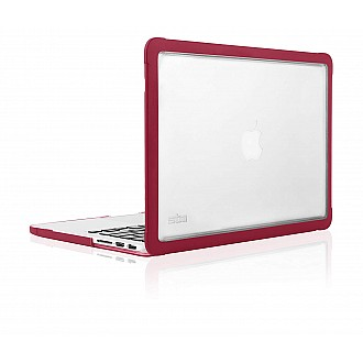 """STM Dux Case for MacBook Pro Retina 13"""" Rugged Protection - Chili color"""