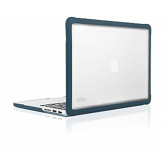 """STM Dux Case for MacBook Pro Retina 13"""" Rugged Protection - Moroccan Blue color"""