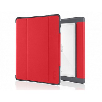 STM Dux Plus case for iPad PRO 10.5 inch with Apple Pencil Storage - Red color 640947794893