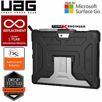 UAG Metropolis Series for Microsoft Surface Go - Black