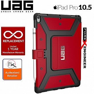 UAG Metropolis iPad PRO 10.5 Military Shockproof Protection - Magma