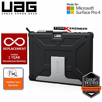 UAG Metropolis Series for Microsoft Surface PRO (2017) - Compatible with Surface PRO 4 / 6 / 7 - Black